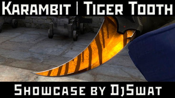 ★ Karambit | Tiger Tooth [Керамбит | Зуб тигра]