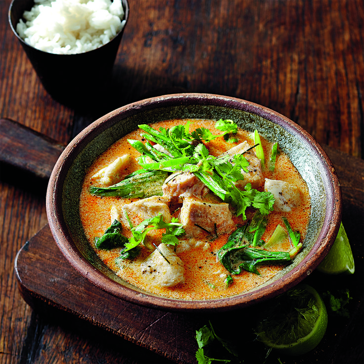 Thai flavours and seafood make a great combination, try our recipe for Red Curry Barramundi with Bok Choy.