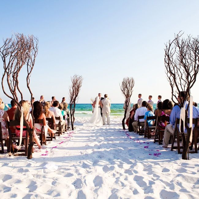 45 best Weddings-Beach-Aisle Decor images on Pinterest | Marriage ...