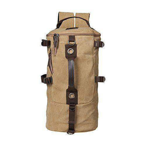 Unives® Men's Retro Military Duffle Rucksack Canvas Trekking Backpack Outdoor Sports Hiking Cycling Gear Large Capacity Bucket Style Luggage Travel Tote Multifunctional Vintage Shoulder bag Handbag Satchel For Sale Outlet | Khaki UNIVES http://www.amazon.com/dp/B011U10UW0/ref=cm_sw_r_pi_dp_iptIwb12X17K4