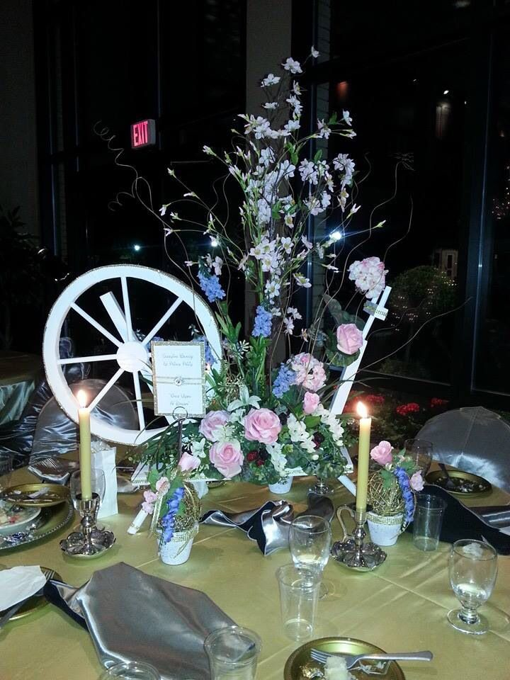 37 best images about disney all the way on pinterest for Sleeping beauty wedding table