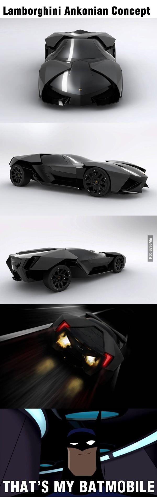 How come Batman is not driving this?
