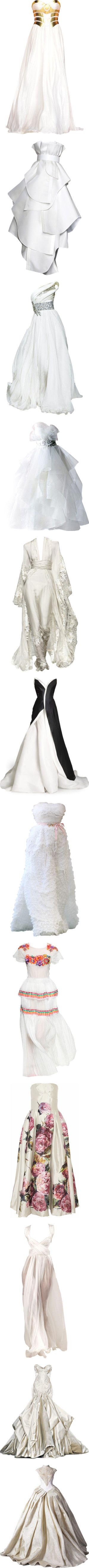 My Gowns 3 by innety on Polyvore featuring dresses, gowns, vestidos, long…