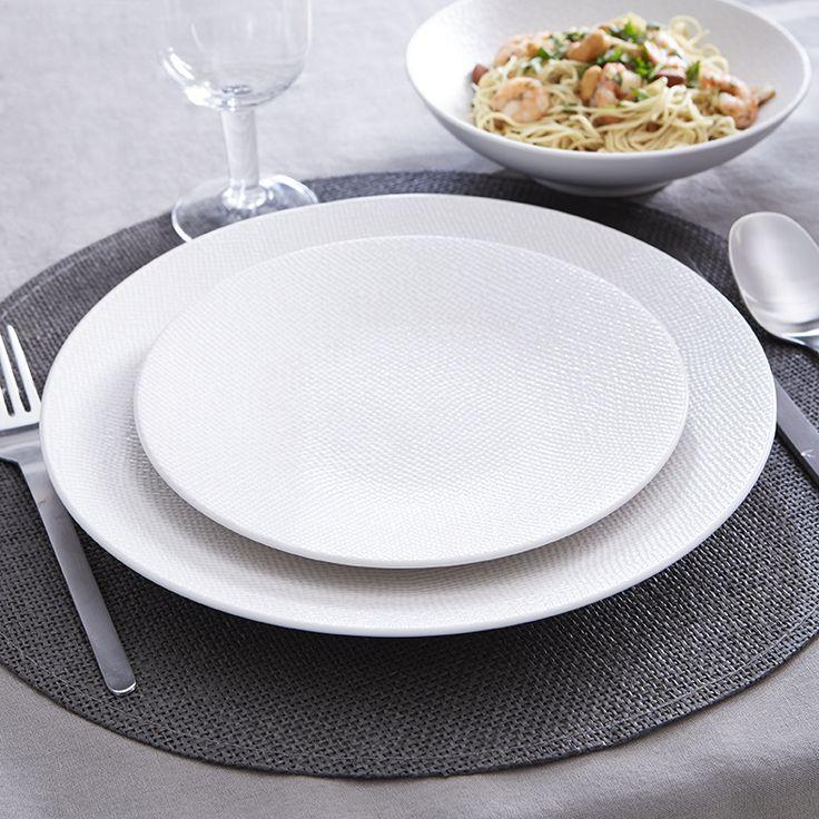 Art De La Table Idee Deco : Assiettes blanches idées déco art de la table
