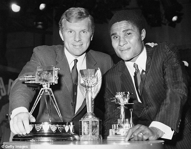 Sports personality of the year, with Eusebio
