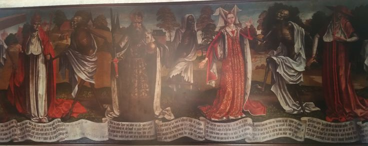 Der Revaler Totentanz - St. Marienkirche Lübeck- about 1500