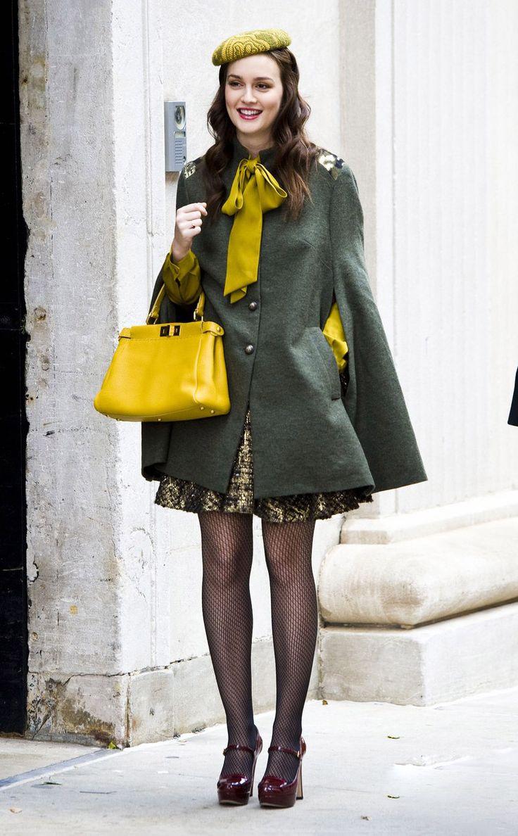 Le look fille sage et luxueux de Blair Waldorf