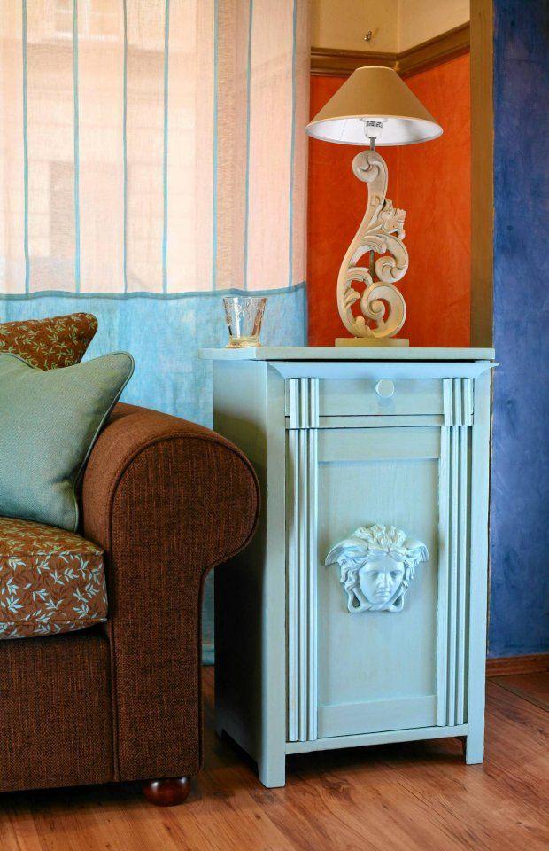 Zrób to sam: szafka w stylu Versace - zdjęcie