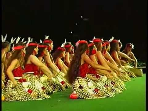 New Zealand Maori group performs at the Polynesian Culture Center, Hawaii.