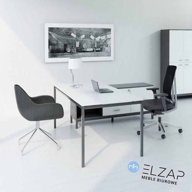 Gabinet Next to kwintesencja prostej, lekkiej i ascetycznej wręcz elegancji.  #elzap#meble#furniture  #furnituredesign #office #style #design #work
