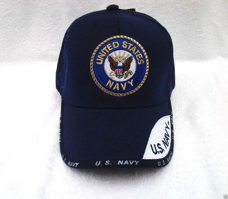UNITED STATES NAVY WEB RD LOGO (BLUE) Military Veteran Hat 001 KN MT #BaseballCap