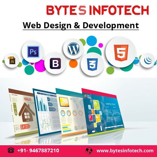 Are You Looking For A Professional Web Designer For Your Company Website At Affordable Price Bytes In Web Design Web Development Design Web Design Company