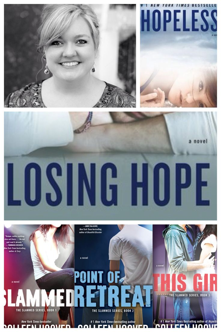 One of my favorite Authors ~ Colleen Hoover ~  loved everyone of her books.