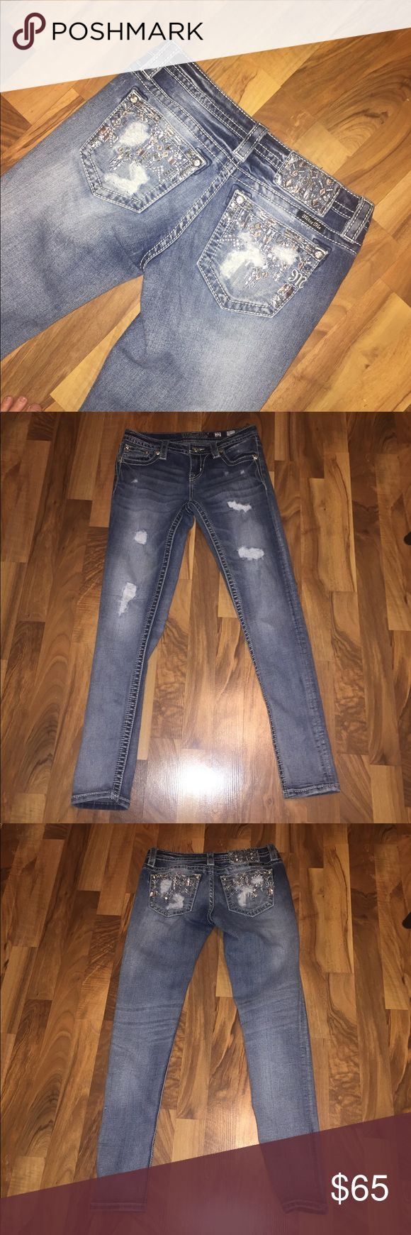 Miss Me Jeans Size 27, Length is a 31. Brand New. Miss Me Jeans Skinny
