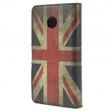 Forro Book Huawei Ascend Y330 Design Bandera UK 1 $ 23.200,00