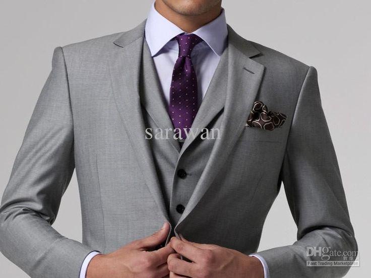 grey wedding suit - Google Search