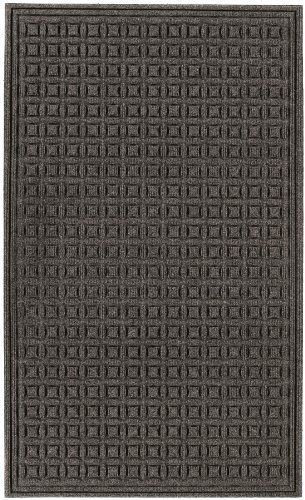 Andersen 20296 Chestnut Brown PET Fabric ECO Select Entrance/Scraper Mat, 3' Length x 2' Width, For Indoor/Outdoor by Andersen. $24.69. Eco Select entrance/scraper-wiper mat for indoor-outdoor use.  Backing is made of 100 percent crumb rubber from recycled tires.Bi-level surface effectively removes and stores dirt and moisture beneath shoe level until cleaning. Rubber reinforced face nubs prevent pile from crushing, extending the performance life of the product....