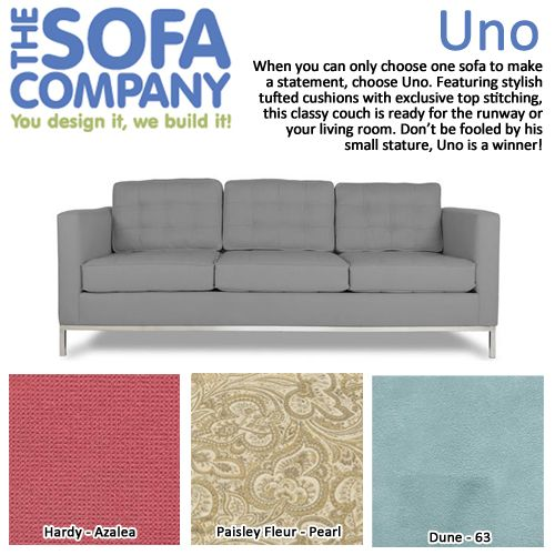 Product Of The Week: Uno! When You Can Only Choose One Sofa To Make