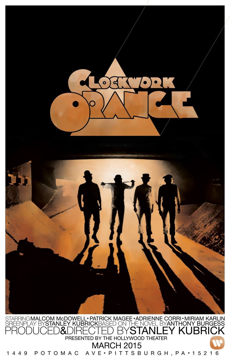 A Clockwork Orange by Zachary Curl
