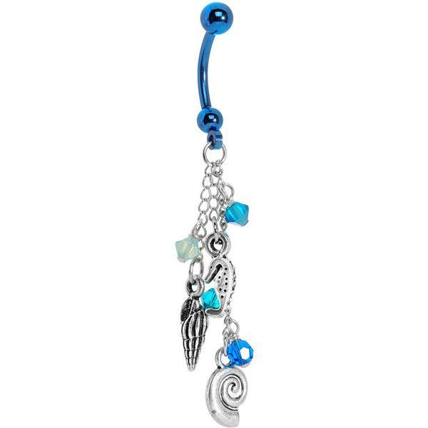 Handcrafted Vintage Heart Belly Ring Created with Swarovski Crystals ❤ liked on Polyvore featuring jewelry, rings, crystal belly rings, belly rings, heart shaped rings, gothic rings and swarovski crystal jewelry