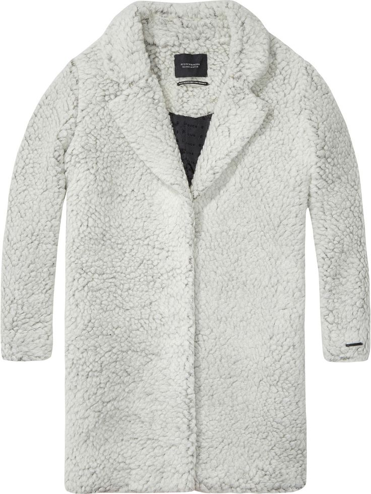 Maison Scotch Teddy Coat | Maze Clothing