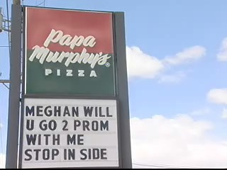Getting creative with your prom date proposal