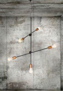 Lampy oświetlenie Nowodvorski - STICKS 5 zwis 6270 Nowodvorski Lighting