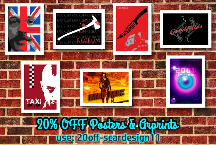 Movie Posters Discount. 20% OFF Everything in my Store. Use Code: 20%off-scardesign11 #sales #discount #OctoberSales #Sales #movieposters #buymovieposters #buyposters #cinema #cinemagifts #wallart #homedecor #homedecorgifts #moviegifts #cinephile #cinephilegifts #movies #bestmovies #Psycho #theShining #Goodfellas #TaxiDriver #MadMax #Bronson #2001aSpaceOdyssey