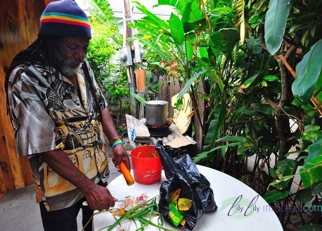 Rastafarian ital vegetarian food in jamaica