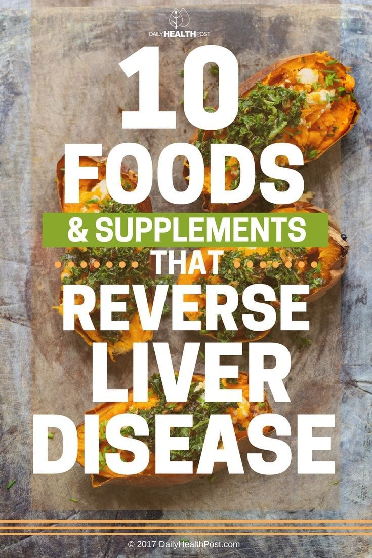 10 Foods & Supplements That Reverse Liver Disease via @dailyhealthpost