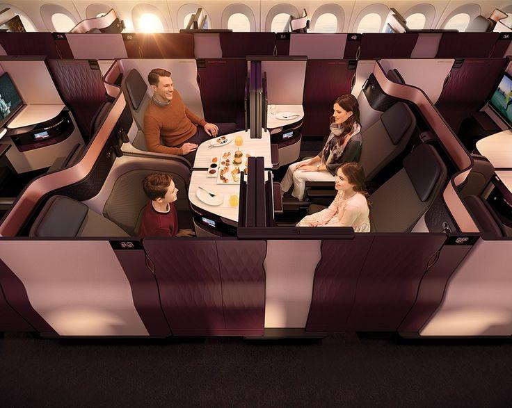 Qatar Airways dévoile sa nouvelle Qsuite (classe Affaires)
