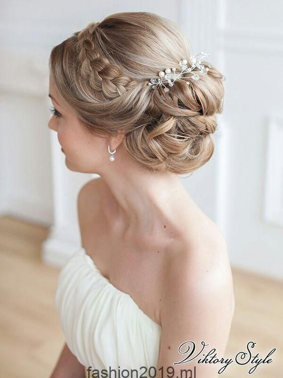 30 wunderschöne und atemberaubende Frisuren für Hochzeitszöpfe für Ihren gro…