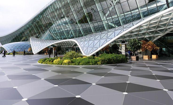 HEYDAR ALIYEV INTERNATIONAL AIRPORT  | interior design by Autoban