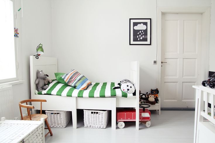 Children's room - Vintage bed - My Second Hand Life