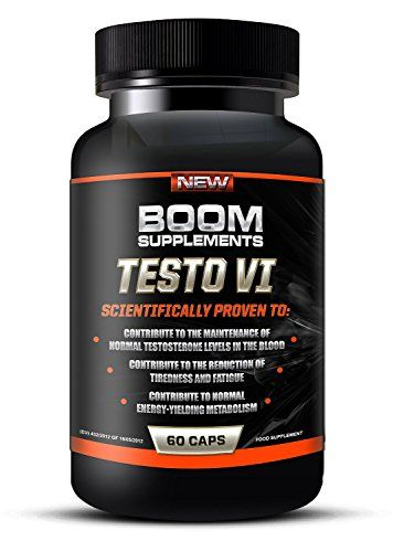 Testosterone Boosters – #1 Proven Testosterone Boosting Supplement * Formerly TESTOBOOM Now TESTO VI*. It Contributes to *Normal Testosterone Levels, *Reduction in Fatigue, & *Normal Energy-Yielding Metabolism* or Your Money Back! *100% PURE, *Best NATURAL Testosterone Booster. *100% Money Back GUARANTEED!* – 60 Maximum Strength Testosterone Tablets – 1 Month Supply. Manufactured In The UK! (Bottle Design May Vary) - http://vitamins-minerals-supplements