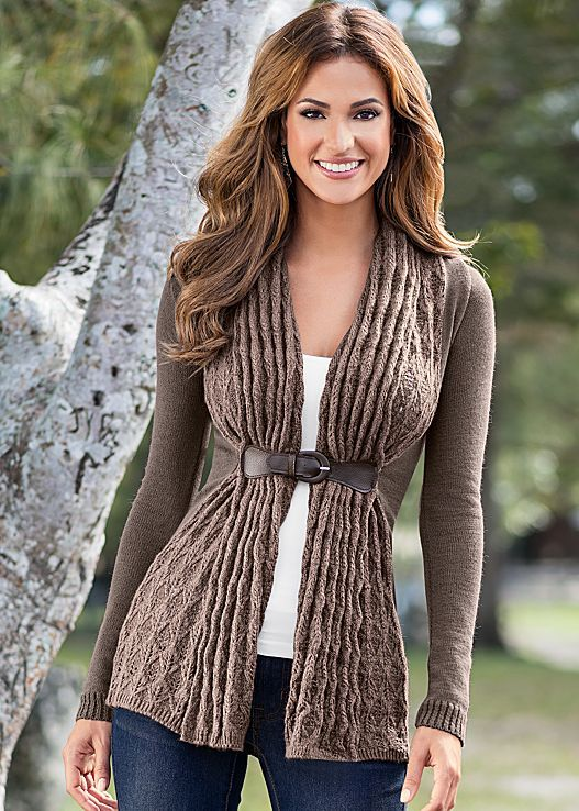 Women's Buckle closure cardigan by VENUS