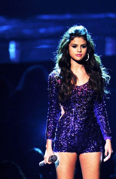 Selena Gomez, ok she is not my most favourite celebrity just because if her actions but she is a really pretty lady.