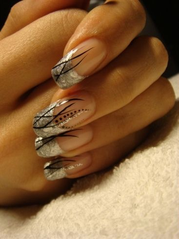 New Years nails by ArtMissy from Nail Art Gallery