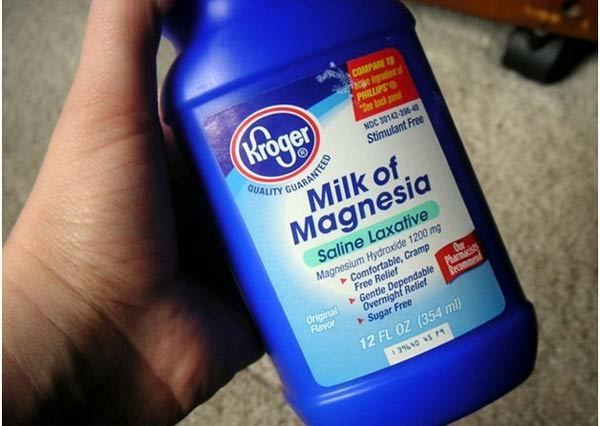 Milk of magnesia is also known as magnesium hydroxide. It is great for skin care if you have oily skin. Milk of magnesia can combat oily skin and impart smoothness to your skin.
