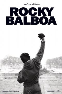 """""""To me, Rocky Balboa is one of the most inspiring characters of all time. I'm partial to ROCKY II, but I draw strength from I, III & IV as well. I've never watched the saga beyond ROCKY IV.   The reason for this fact is that I refuse 2 believe it didn't work out for him. Characters exist only in our minds, so I'll not fill mine w/images of his downfall. I pray I always hear 'Go for It!' in my head whenever I'm fighting to get up after having been knocked down in the ring of life.""""…"""