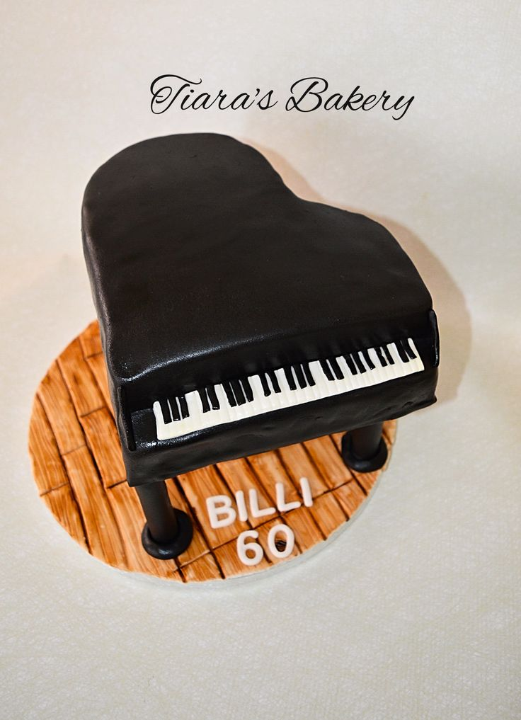 3D Piano Cake, by Tiara's Bakery, Switzerland