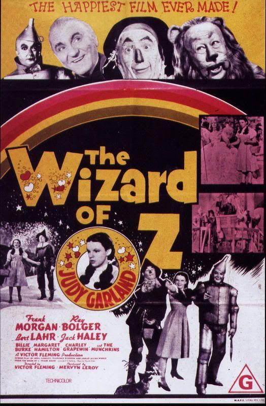 The Wizard of Oz (Victor Flemming, Mervyn LeRoy, King Vidor & Richard Thorpe; 1939)