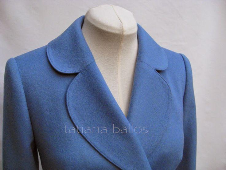 Tatianologia: Обработка воротника пиджачного типа
