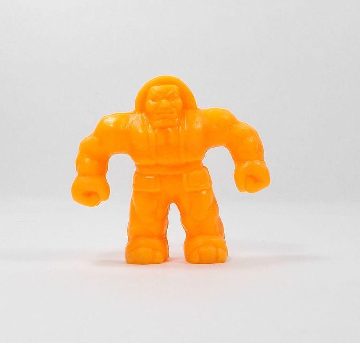 Monster In My Pocket - Series 2 - 54 Golem - Neon Orange - Mini Figure