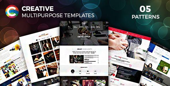 Creative Parallax One Page HTML Template http://themeforu.com #webdesign #website #design #responsive #besttemplates #template #SiteTemplates #Corporate