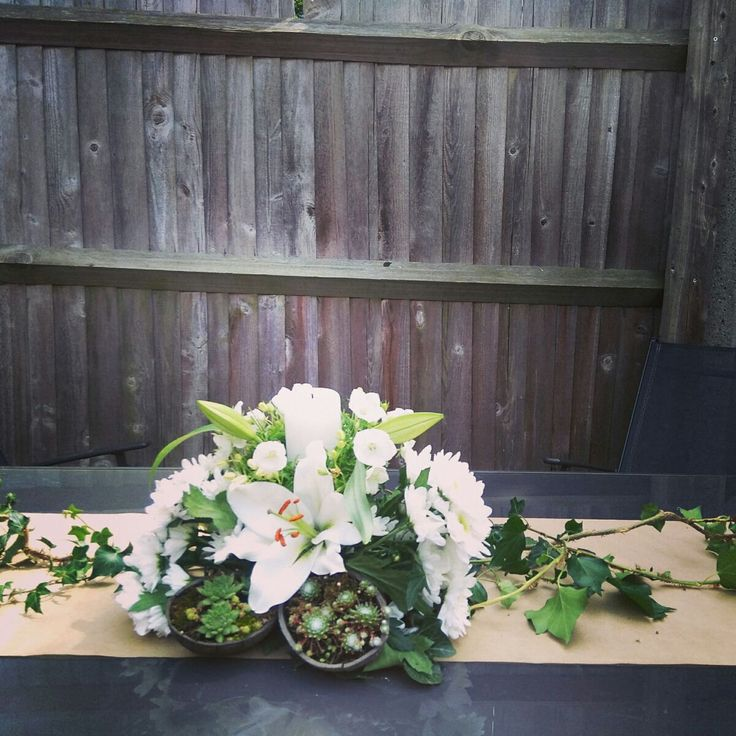 Wedding decoration, Lilies of the Valley! by thehappylittlejar on Etsy