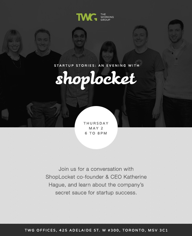 Startup Stories: An Evening with @Shoplocket