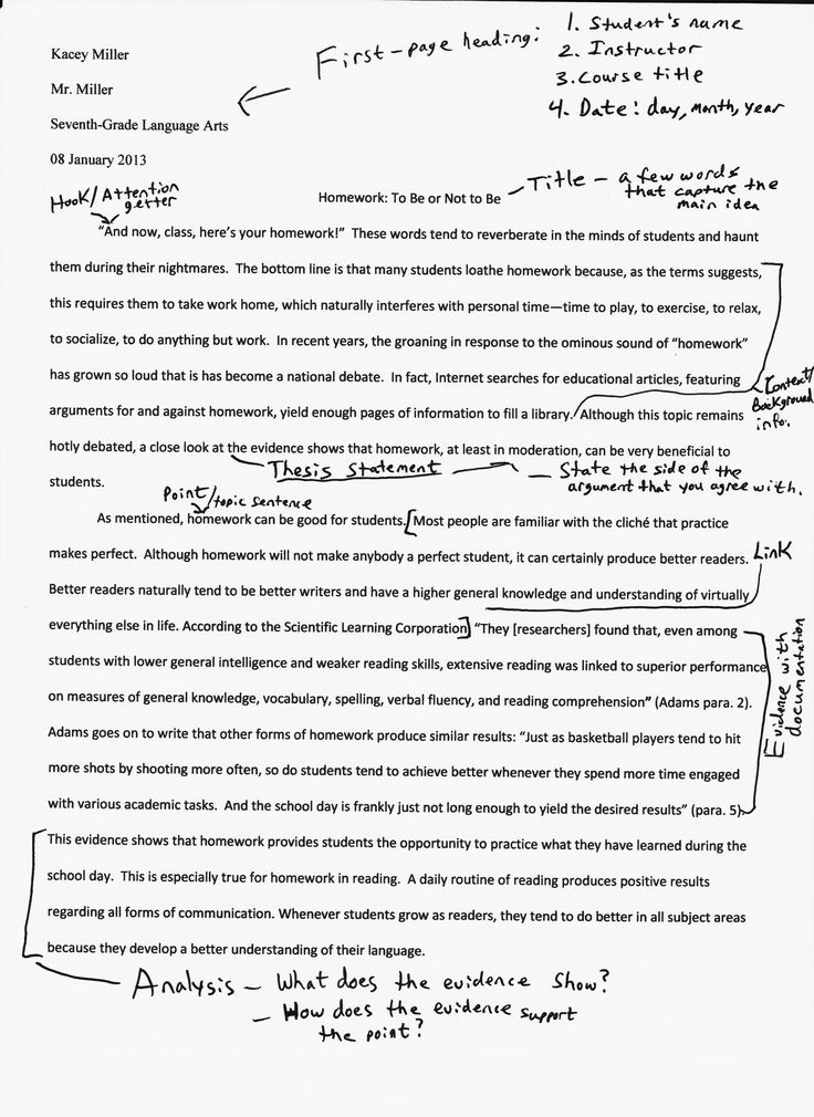 Njhs Essay Example National Junior Honor Society