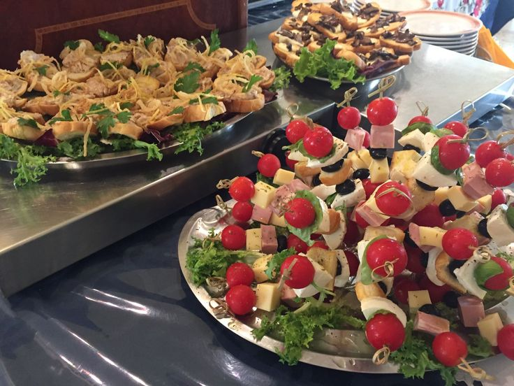 il nostro buffet del pranzo!