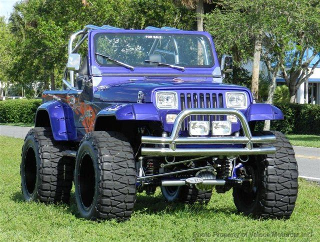 Jeep Wrangler YJ - 1989 Used Jeep Wrangler Full Custom YJ